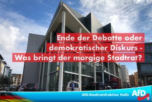 Ende der Debatte oder demokratischer Diskurs – was bringt der morgige Stadtrat?