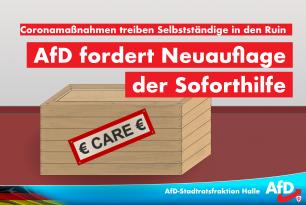 Corona-Maßnahmen treiben Selbständige in den Ruin – AfD fordert Neuauflage der Soforthilfen