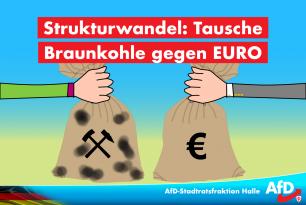 Strukturwandel: Tausche Braunkohle gegen Euro-Kohle