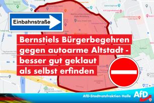 Bernstiels Bürgerbegehren gegen autoarme Altstadt – besser gut geklaut als selbst erfinden