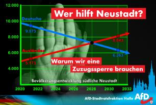 Wer hilft Neustadt? – Warum wir eine Zuzugssperre brauchen