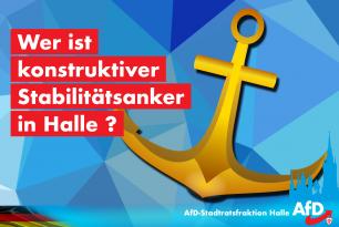 Wer ist konstruktiver Stabilitätsanker in Halle?
