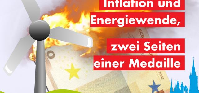 Inflation und Energiewende, zwei Seiten einer Medaille